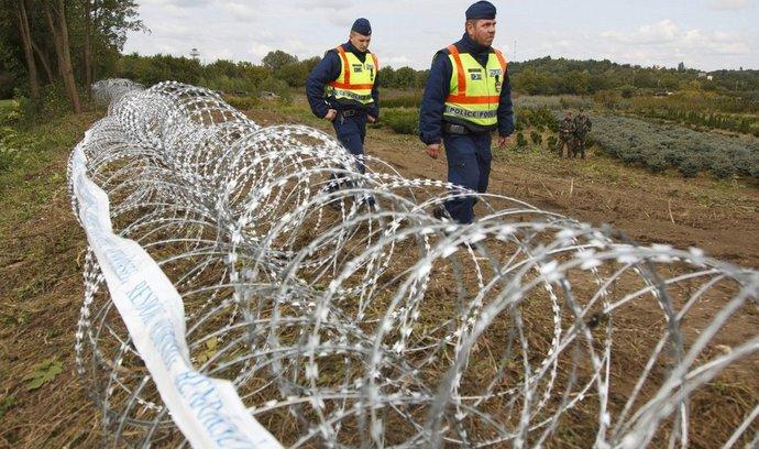 Plot na maďarských hranicích