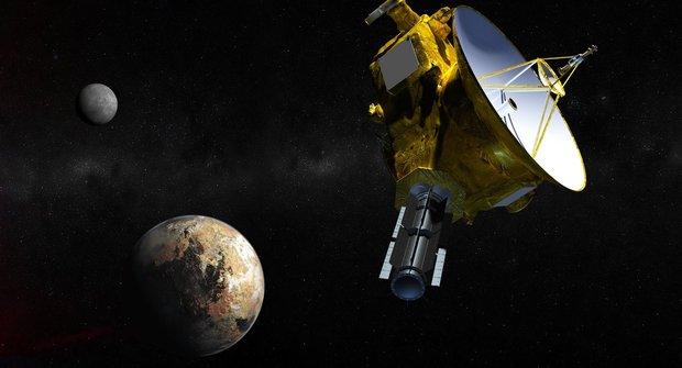 Na návštěvě u bývalé planety: Sonda letí kolem Pluta