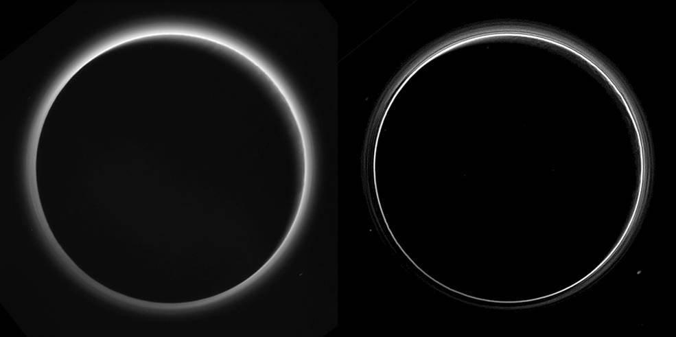 Ostré a jasné fotografie Pluta
