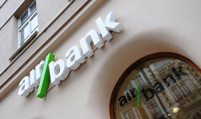 Pobočka Air Bank ve Vodičkově ulici v Praze