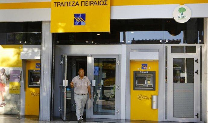 Pobočka banky Pireus