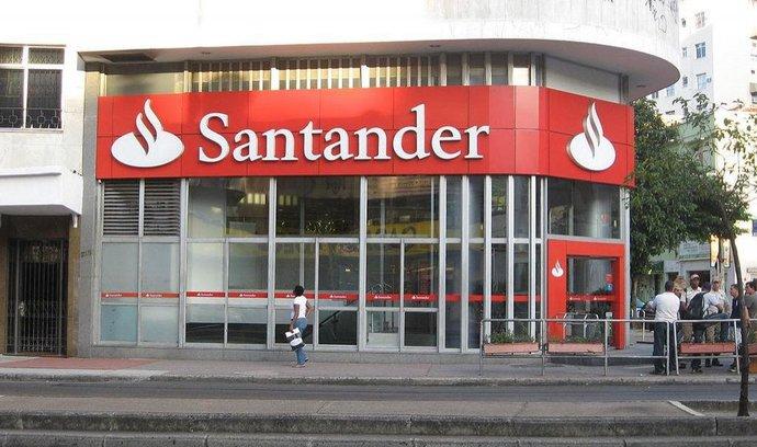 Pobočka banky Santander