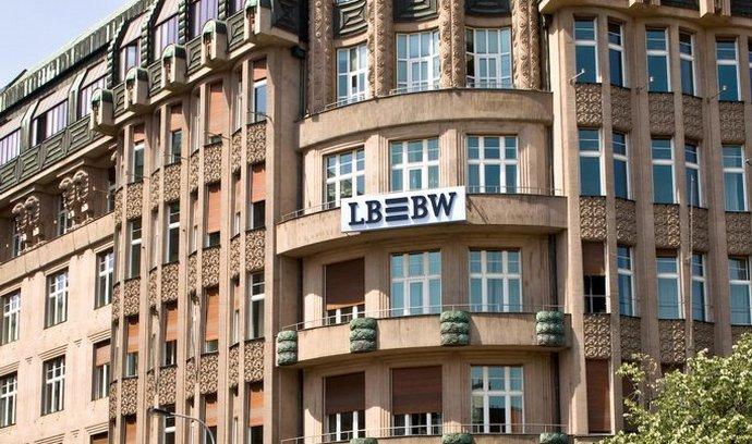 Pobočka LBBW Bank na pražském Václavském náměstí
