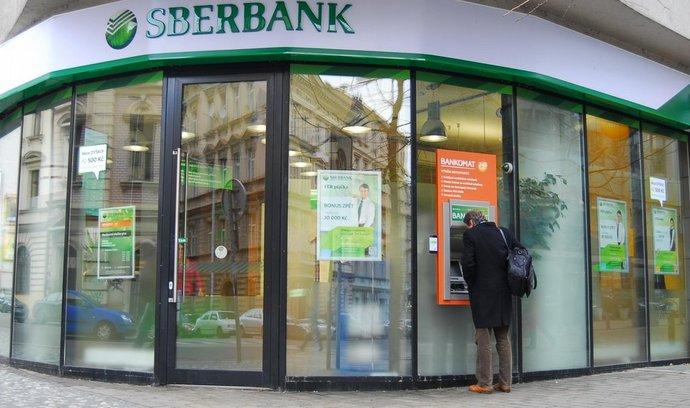 Pobočka Sberbank na pražském Andělu