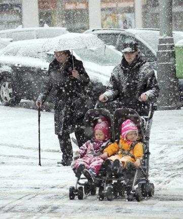 ...na Moravě a ve Slezsku napadne až šest centimetrů sněhu.