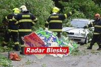Bláznivé počasí v Česku: Teplotní rekordy vystřídábouře Ignatz. Sledujte radar Blesku