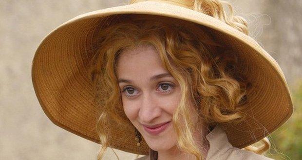 Pohádka Slíbená princezna: Správná paruka pro zlatovlasou pannu v podání Marty Dancingerové se hledala hodně dlouho.