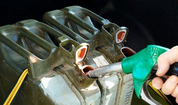 pohonné hmoty, ilustrační foto