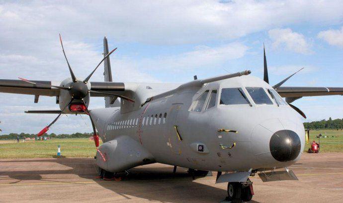 letadlo CASA, ilustrační foto