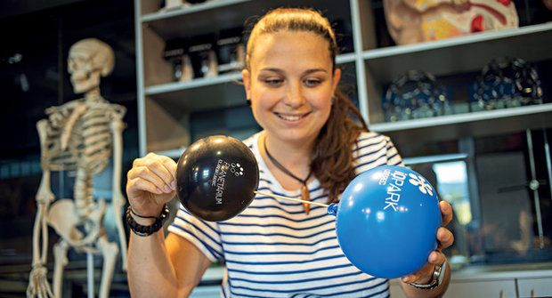 Pokusy s IQ: Balonkový špíz