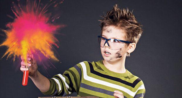 Pokusy s IQ: Hořící ocel