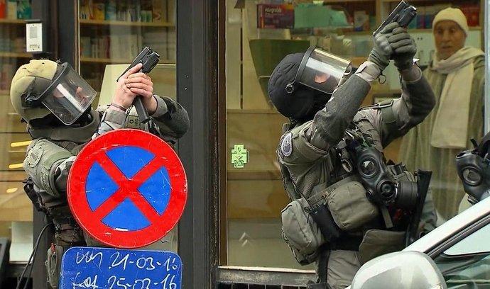 Policejní operace v Bruselu, při níž byl dopaden Salah Abdeslam