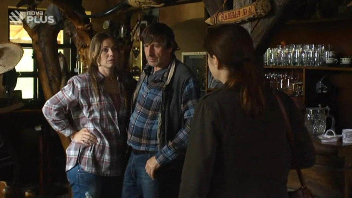 Epizoda Ranč seriálu Policie Modrava se natáčela i v interiéru ranče.