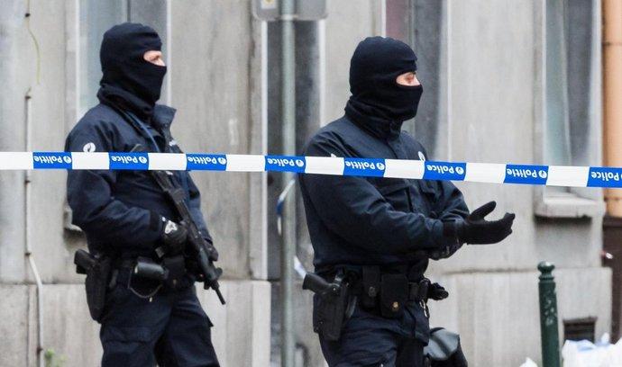 Policisté v Bruselu