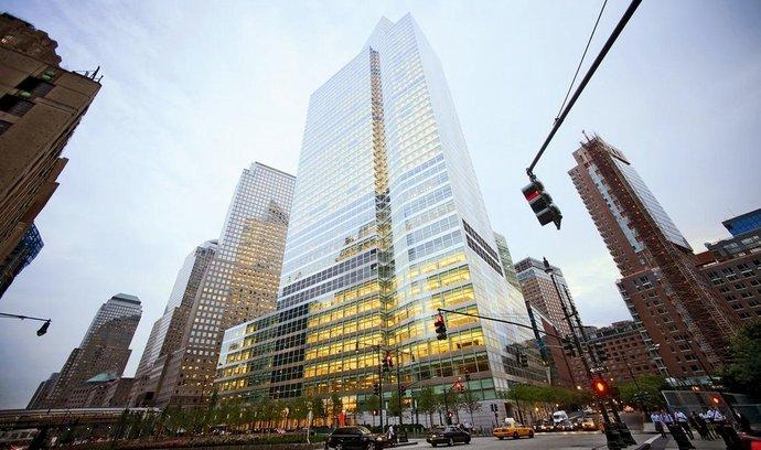 Newyorské sídlo americké banky Goldman Sachs