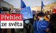 Poláci vyšli v mnoha městech do ulic podpořit členství v EU