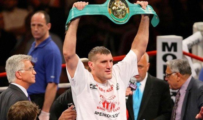 Polský boxer Mariusz Wach