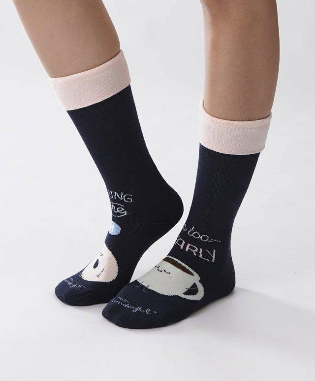 Ponožky Mr. Wonderful s motivem snídaně, Oysho, 179 Kč