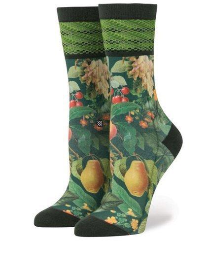 Zelené dámské vzorované ponožky Stance Fruit Tree, Zoot, 389 Kč