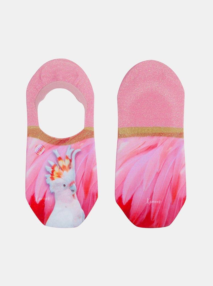 Růžové dámské nízké ponožky XPOOOS, zoot.cz, 259 Kč