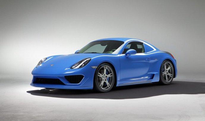 Porsche Cayman vyladěné firmou StudioTorino