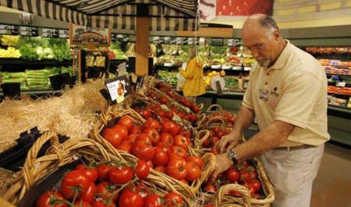 potraviny, rajčata