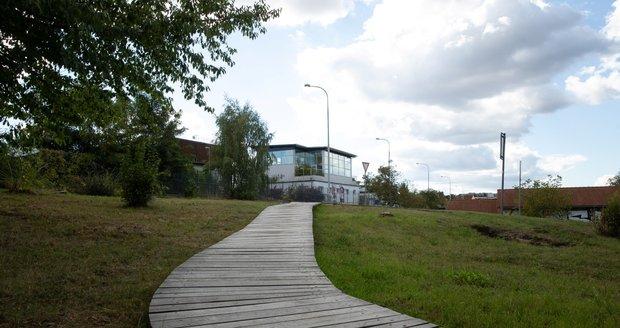 Naturpark Modřany - Überschwemmung.