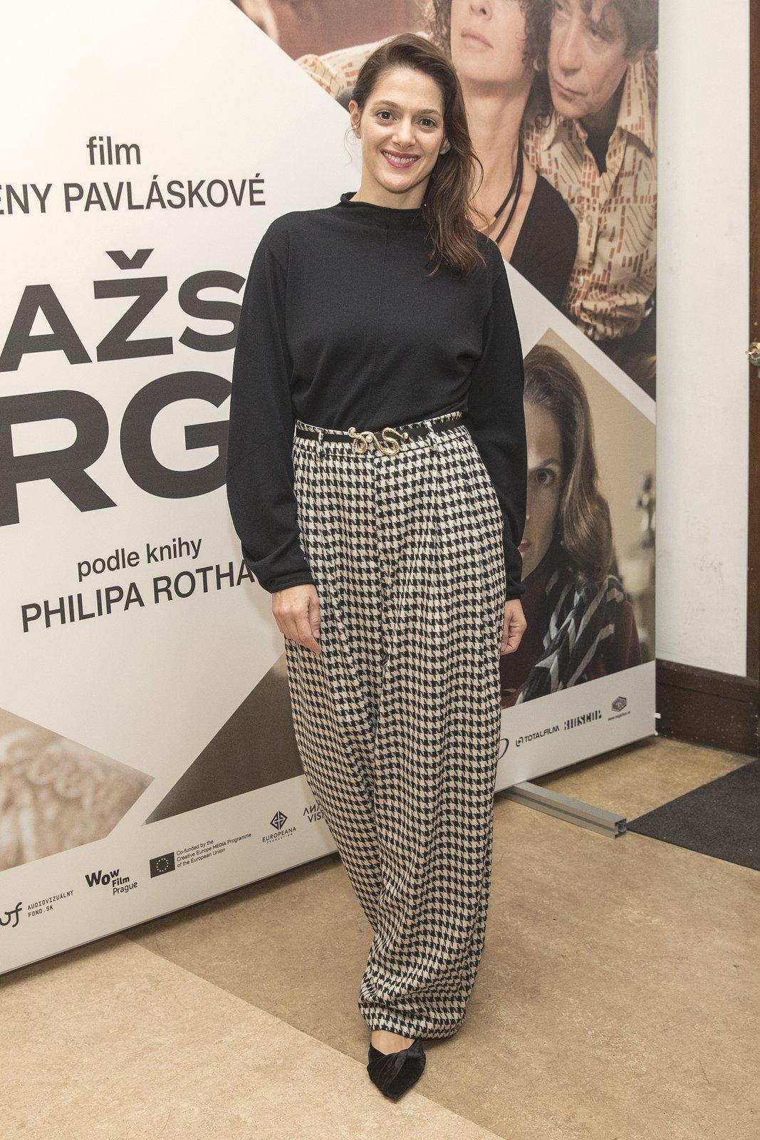 Premiéra filmu Pražské orgie: Klára Issová