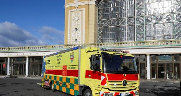 Nové Atego bude sloužit k evakuaci pacientů z ARO nebo JiP