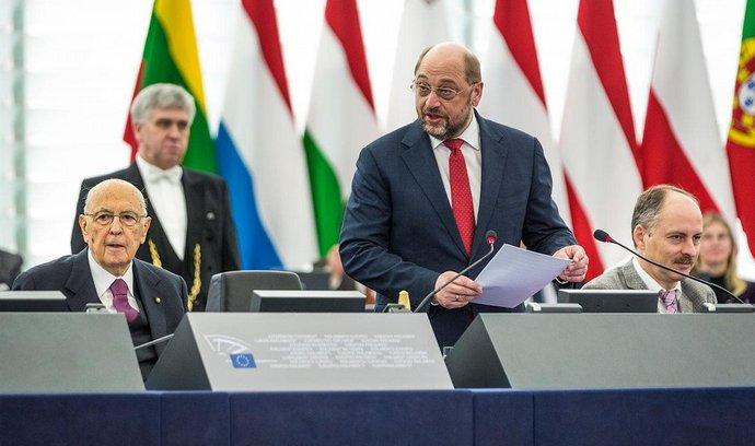 Předseda Evropského parlamentu Martin Schulz
