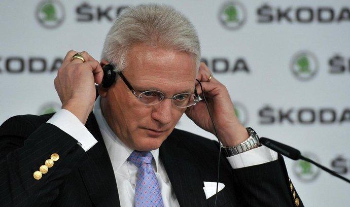 Předseda představenstva automobilky Škoda Auto Winfried Vahland
