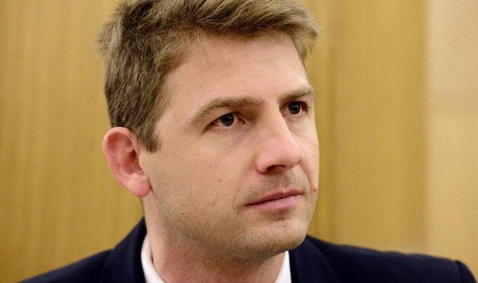 Předseda Strany svobodných občanů Petr Mach