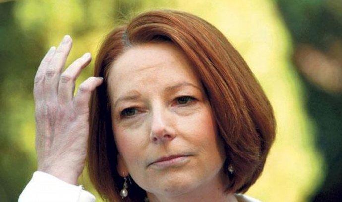 premiérka Austrálie Julia Gillardová
