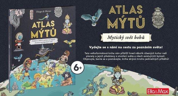 Atlas mýtů: Hrdinové, bohové a příšery na mapách dvanácti mytologických světů