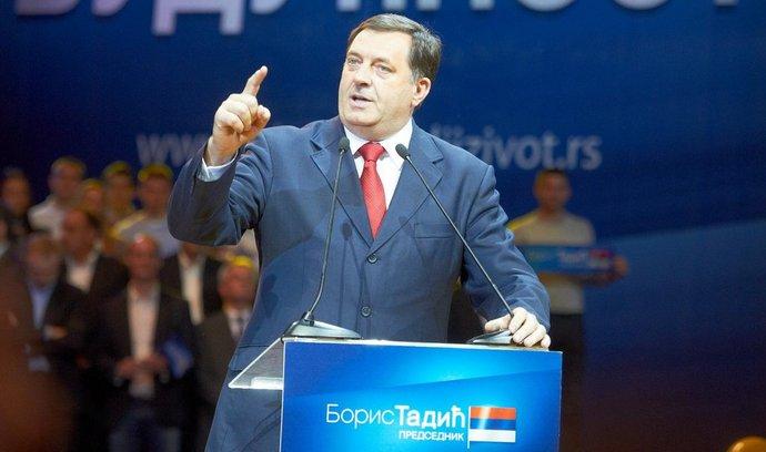 Prezident Republiky Srbské Milorad Dodik
