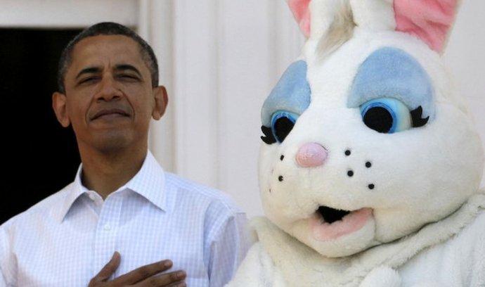 Prezident USA Obama při oslavách Velikonoc