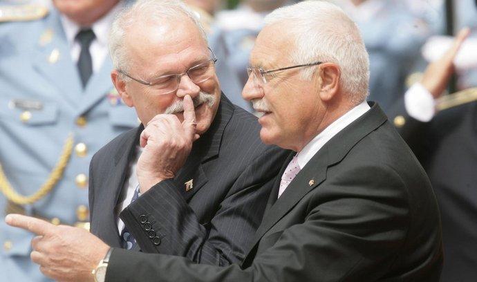 Prezidenti Gašparovič a Klaus
