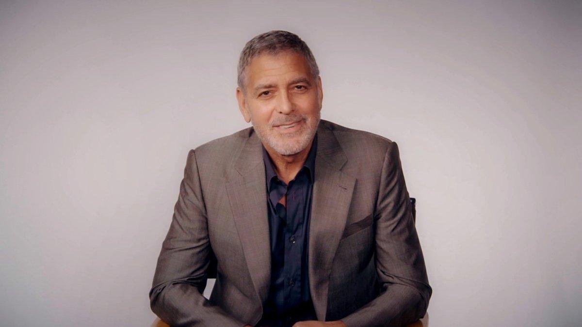 Biden oslovil i herce George Clooneyho