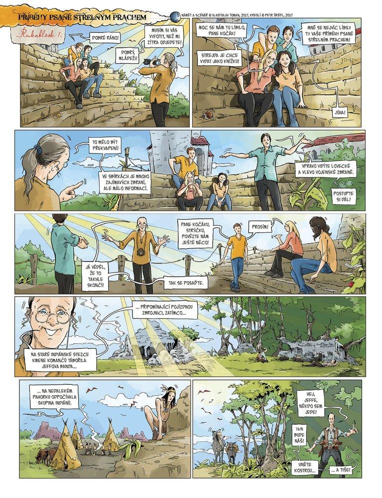 Příběhy psané střelným prachem 11: Rukoblesk I.