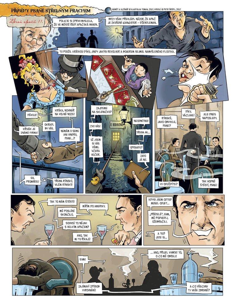 Příběhy psané střelným prachem 8: Zbraně Apačů II.