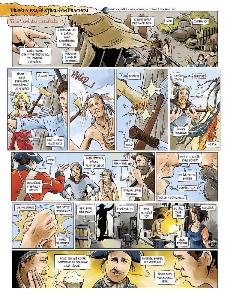 Příběhy psané střelným prachem 6: Tomahawk pro náčelníka II