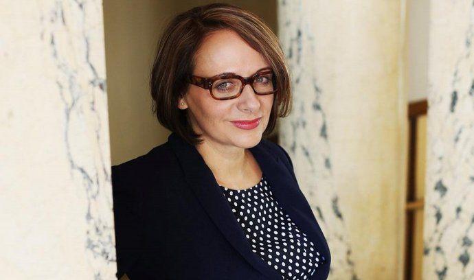 Primátorka Prahy Adriana Krnáčová