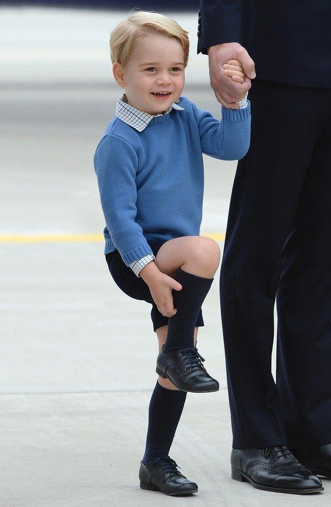 Princ George při návštěvě Kanady, 2016