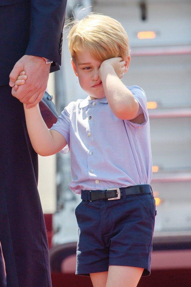 Princ George na návštěvě Berlína, 2017