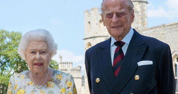 Princ Philip s královnou Alžbětou