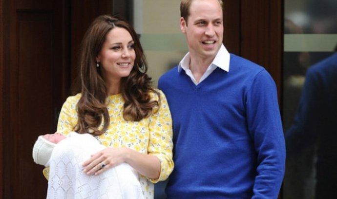 Princezna Charlotte Elizabeth Diana s rodiči