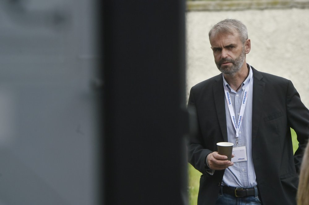 Bývalý policista Robert Šlachta je předsedou hnutí Přísaha