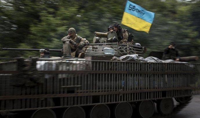 Příslušníci ukrajinské armády