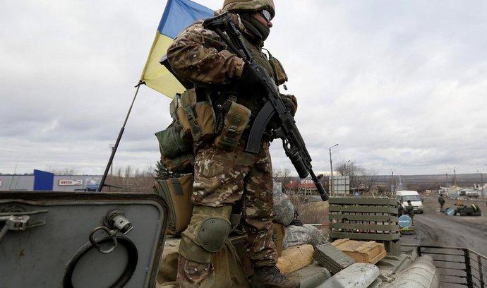 Příslušník ukrajinské armády.