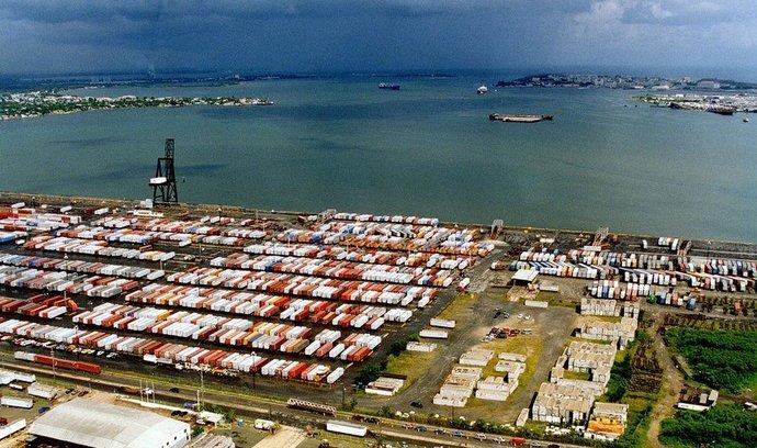 Přístav v portorické metropoli San Juan